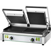 GRILL A PANINI DOUBLE - PLAQUES ELECTRIQUES PE50RE
